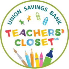 Union Savings Bank Teachers Closet community program