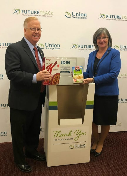 food donation PR 1 - City of Danbury, Union Savings Bank Offer Relief to Federal Employees and Families Affected by Shutdown